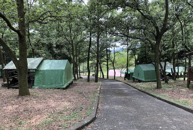 奥矢谷渓谷キャンプ場